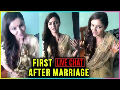 Ribina Dilaik First Live Chat After Marriage | Rub