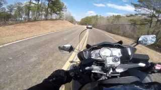 5. TTW 42 - 2013 FJR1300 Sixteen Thousand Mile Review in Talladega National Forest on Highway 281.