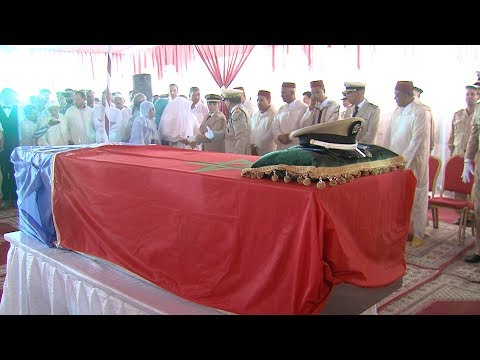 تازارين.. تشييع جنازة الجندي المغربي الذي قضى في هجوم بإفريقيا الوسطى