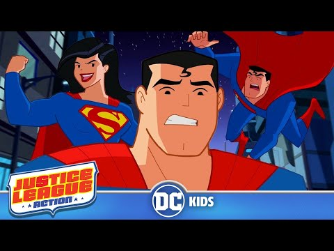 Justice League Action | Funniest Superman Moments | DC Kids
