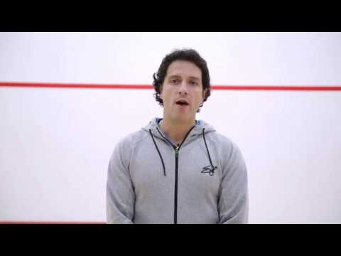 Squash tips: Diffusion - Guide to refereeing Part 1 with Lee Drew