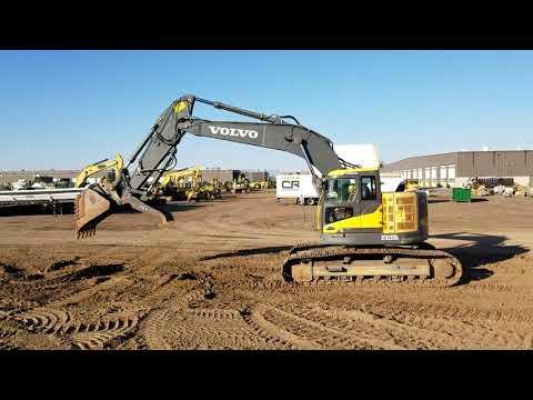 VOLVO CONSTRUCTION EQUIPMENT KETTEN-HYDRAULIKBAGGER ECR 235DL equipment video faTl8RgNol0