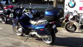 4. Pre-Owned 2009 BMW R 1200 RT Biarritz Blue Metallic at Euro Cycles of Tampa Bay