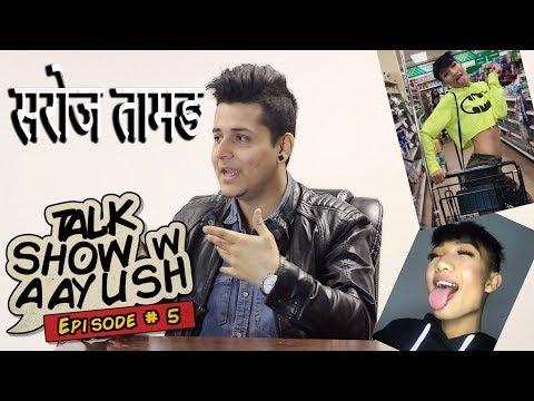 (TALK SHOW WITH SAROJ TAMANG [ Nepali Gay Guy ] - Duration: 8 minutes, 21 seconds.)