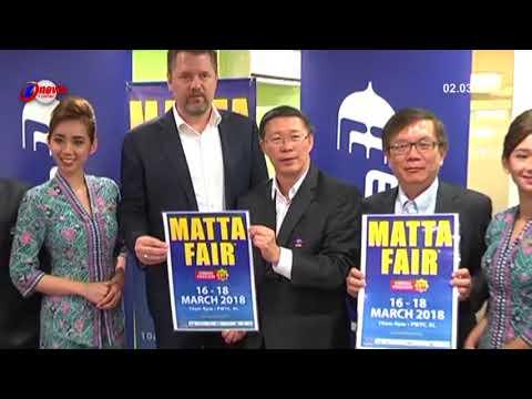 Malaysia Airlines Bhd  MAB Dilantik Penerbangan Rasmi MATTA Fair 2018