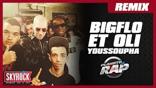 """Bigflo & Oli """"Entourage"""" [Remix] feat. Youssoupha en live #PlanèteRap"""