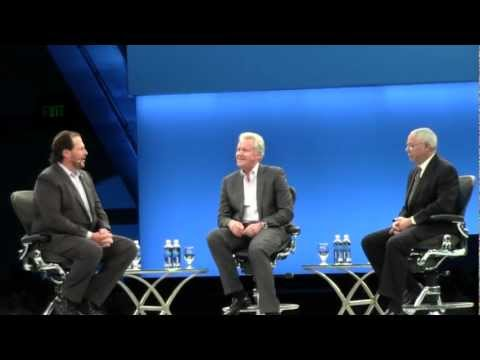 Dreamforce - Dreamforce 2012 Conference Marc Benioff, CEO Salesforce General Colin Powell Jeff Immelt, CEO General Electric Part 1: https://www.youtube.com/watch?v=faWU_e...