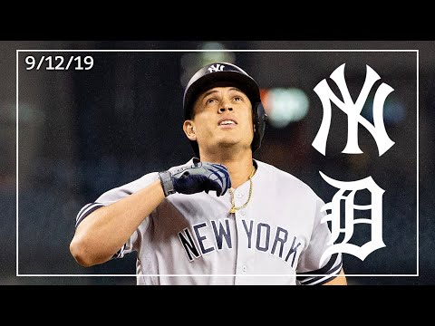 New York Yankees @ Detroit Tigers | Game  Two Highlights | 9/12/19