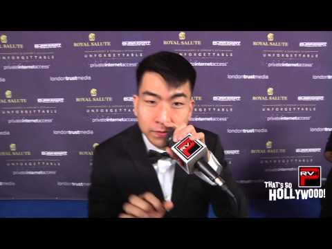 KRNFX does a bit of Beat Boxing at Koream's  & Audrey Magazine's Unforgettable