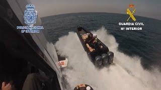 Guardia Civil interviene más de tres toneladas de hachís