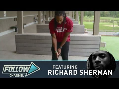 Richard Sherman, Next Tiger Woods?