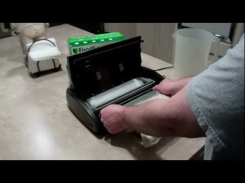 How to Vacuum Seal Food with FoodSaver V2840 - Part 2
