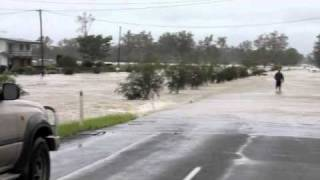 Our small town of Walloon, 20 minutes outside of Ipswich, is getting the downpour of the recent flooding.