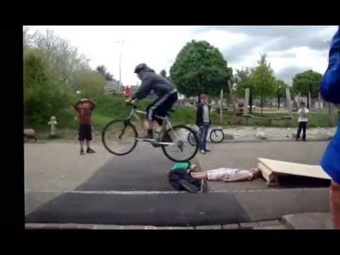 bike jumps in Holziken