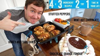4 x 3 Ingredient recipes 2 try 1 time in your life! Part 10 by  My Virgin Kitchen