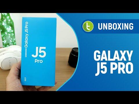 Unboxing e primeiras impressões Samsung Galaxy J5 Pro  TudoCelular.com