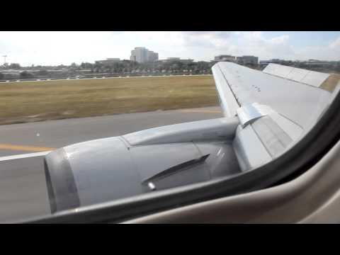 American Airlines Boeing 767-300ER Medical Emergency Landing at Miami 11/29/12
