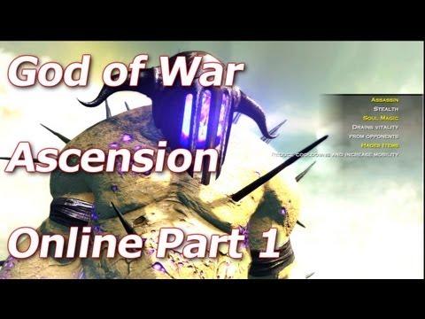 God of War Online: Ascension - Hades Olympus Training - Multiplayer Walkthrough Part 1 - HD