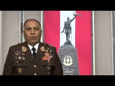 Saludo del Comandante General del Ejército por Fiestas Patrias