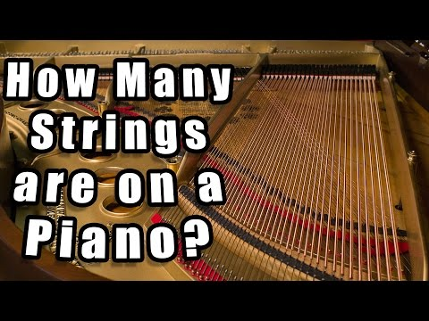 How Many Strings are on a Piano?