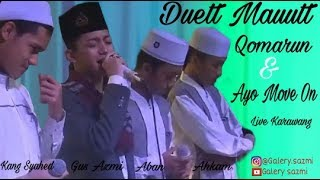 Video Gus Azmi Kang Syihab Aban Ahkam - Qomarun - Move On MP3, 3GP, MP4, WEBM, AVI, FLV Oktober 2018