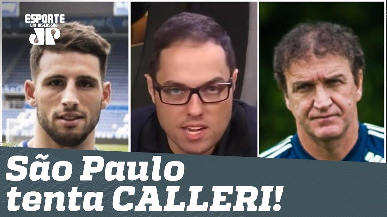 Bastidores: em silêncio, São Paulo tenta trazer CALLERI! - YouTube