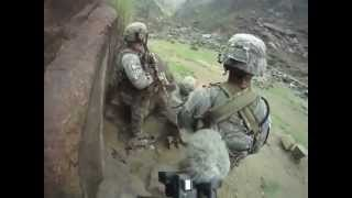 U.S. Army Soldiers from the 101st Airborne Division, get Ambushed by Insurgents in Kunar Province, Afghanistan.