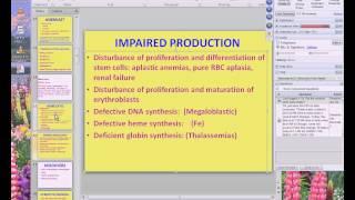 Medical School Pathology, 2013 Season, Session #50: RBC-I