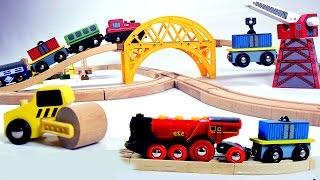 Video toy train videos for children -  train for kids - train videos - chu chu train MP3, 3GP, MP4, WEBM, AVI, FLV September 2017