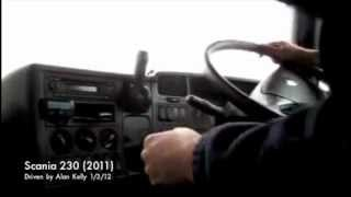 6. SCANIA 230 (2011) split shift gears 4 over 4 driven with commentary by Alan Kelly