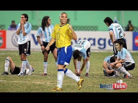 "The Night When ""Unfit"" Ronaldo Single Handed Destroyed Argentina With Unforgettable Penalty Hattrick"