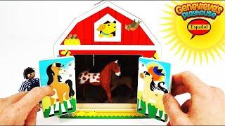 Aprende los Animales y Comidas para Niños y Bebés!