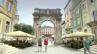 Pula Croatia  City new picture : Croatia - Pula Port and City