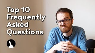 There are some questions being asked time and time again, and the time to write a personalized answer to each and every one of them is getting low. Therefore, enjoy this top ten frequently asked questions, feel free to click the timings below to go to each individual question.1 - 00:18 - Where are you from?2 - 00:32 - I don't have the tools you have!3 - 01:46 - Can I use a thingy instead of a doodad?4 - 02:32 - Safety third? Why not first?5 - 03:24 - Can I buy or have what you've made?6 - 04:05 - You can buy that from China for $5!7 - 04:48 - Can you make this for me?8 - 05:16 - What software do you use?9 - 06:11 - What is that song?10 - 06:25 - Why was my comment removed?Follow and like Switch & Lever on:Facebook: https://www.facebook.com/SwitchAndLeverInstagram: http://instagram.com/switchandleverTwitter: https://twitter.com/switchandleverPinterest: http://www.pinterest.com/switchandlever/Linkedin: http://www.linkedin.com/profile/view?id=174927629And check out the Switch & Lever online store at:http://www.switchandlever.com/store/-----------------Music:Nicolai Heidlas - Warm LightsCC BY 4.0