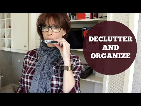 Decluttering & Organizing My Home Office (видео)