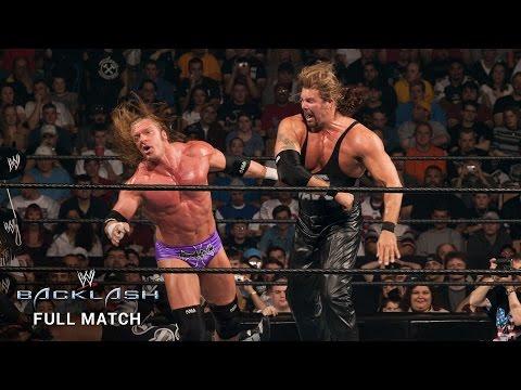 FULL MATCH — Nash, Michaels & Booker T  vs. Triple H, Flair & Jericho: Backlash 2003 (видео)