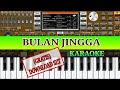 Download Lagu BULAN JINGGA   KARAOKE   ORG 2019 (POPDUT MANUALAN) Mp3 Free