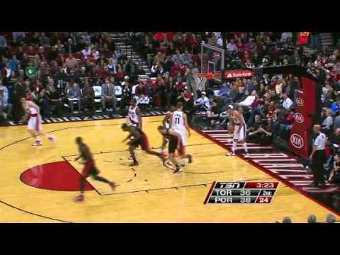 Toronto Raptors 74 – Portland Trail Blazers 92