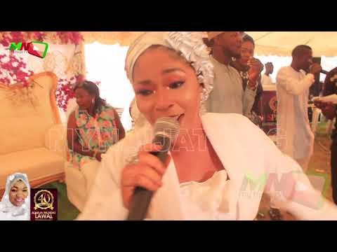 Alhaja Ashabi Medinat Barrymade  Performance @ 4OTH Birthday of Alhaja Mujidat LAWAL