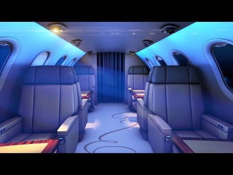Private Jet Sound White Noise | Sleep Or Study With Airplane Ambience | 10 Hours