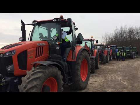 Wideo1: Przygotowania do wyjazdu rolników na ulice Leszna