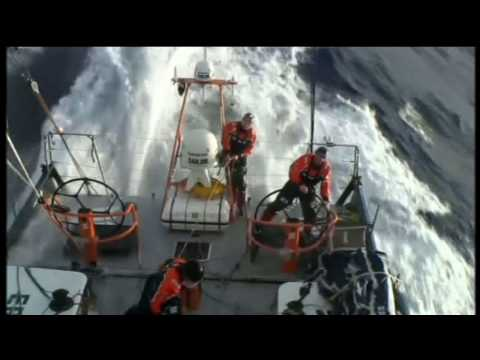 Cape Horn - These snippets were taken from an outstanding 2 hour 40 min documentary of the 2008/09 Volvo Ocean Race shown on Channel 4 in the UK . Volvo Ocean Race, S.L....