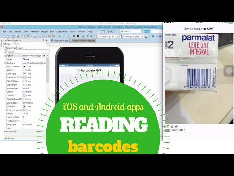 Reading Barcodes on your Android and iOS apps