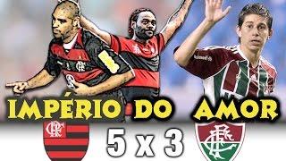 Um Jogo Histórico! Uma Virada ESPETACULAR! O Fluminense chegou a estar vencendo por 2x0 e 3x1, mas em uma enorme...