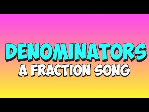 Fraktionen Lied: Nenner