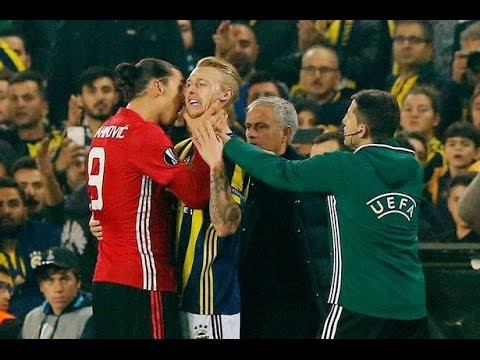 Fenerbahçe 2-1 Manchester United | UEFA Europa League | GOALS: Sow, Lens, Rooney