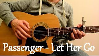 Video Passenger - Let Her Go (Acoustic Guitar Cover) MP3, 3GP, MP4, WEBM, AVI, FLV Agustus 2018