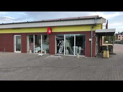 Wideo1: Wysadzony bankomat we Wschowie