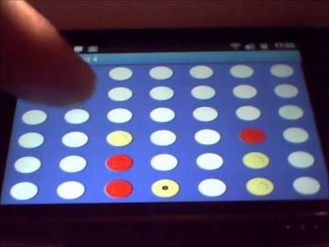 Video of Simple Connect 4