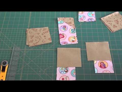 realizzazione di un favoloso blocco in patchwork